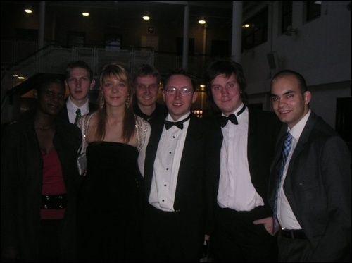 Representing Bournemouth University at the NASTAs in Loughborough, April 2005