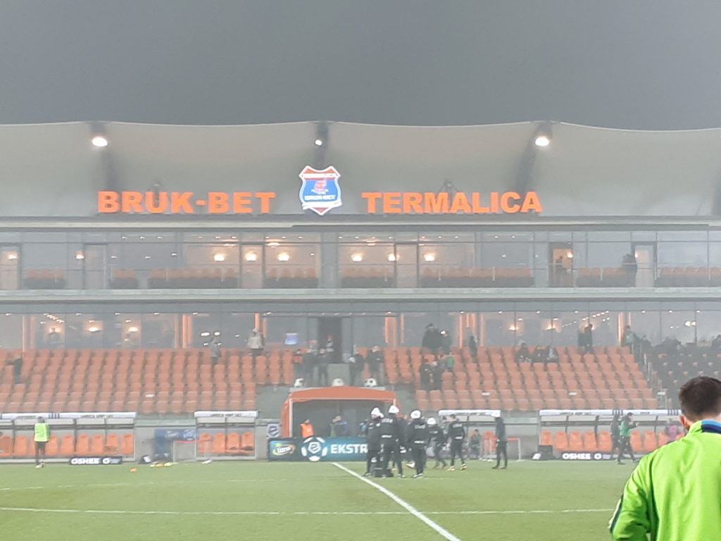 Śmieszne Historie o Piłce Nożnej w Polsce: Introducing Bruk-Bet Termalica Nieciecza, Europe's Smallest Ever Top Flight Football Club