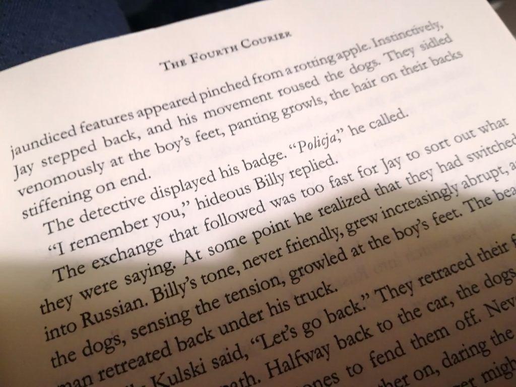 Nigdy Więcej Wojny: Book Review of The Fourth Courier by Timothy Jay Smith