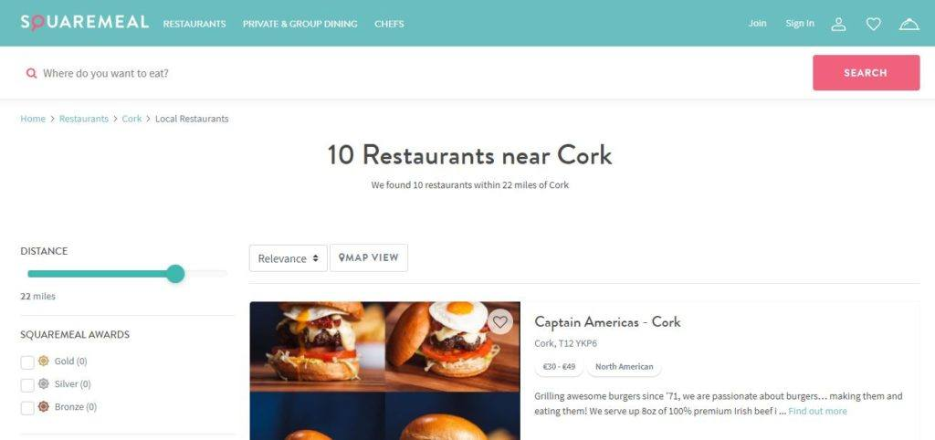 Using Square Meal to Find and Book Restaurants
