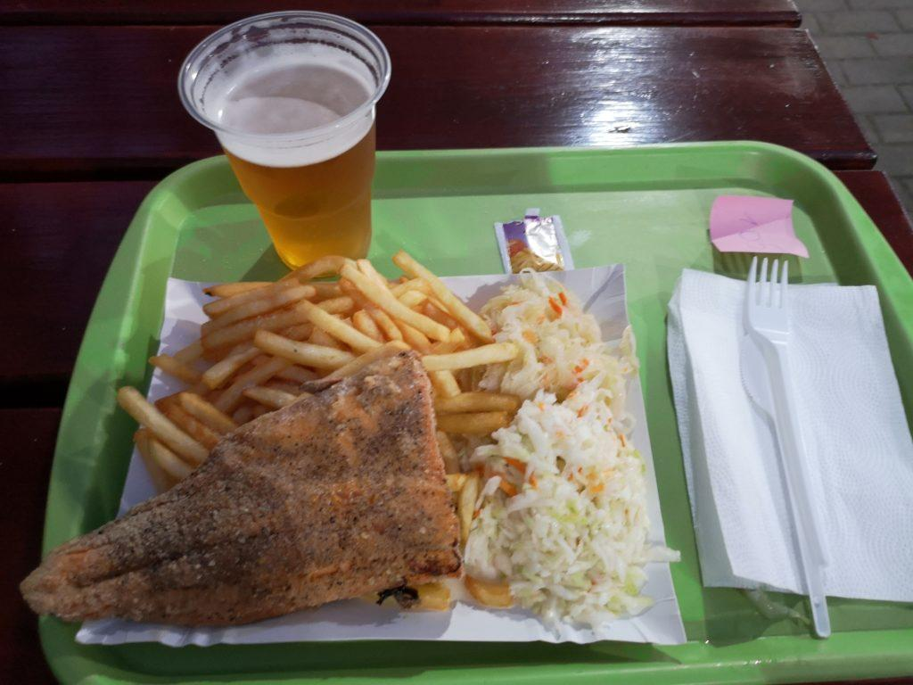 Fish and chips in Władysławowo
