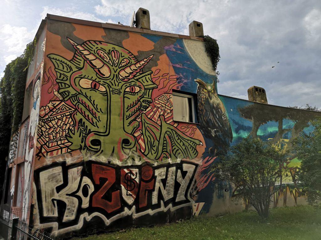 Mural Tour, Łódź