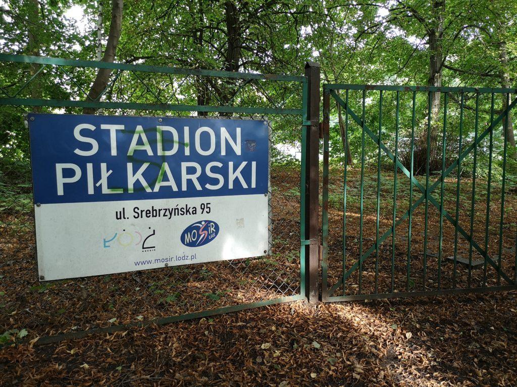 Finally found the stadium in a forest: Getting to the Kolejarz Łódź stadium